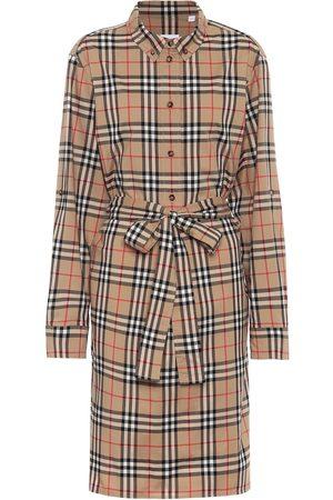 Burberry Vestido camisero Vintage Check