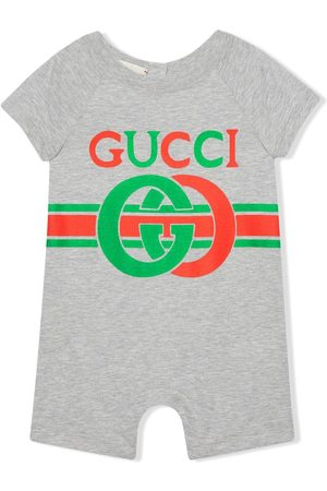 Gucci Interlocking G print cotton one-piece