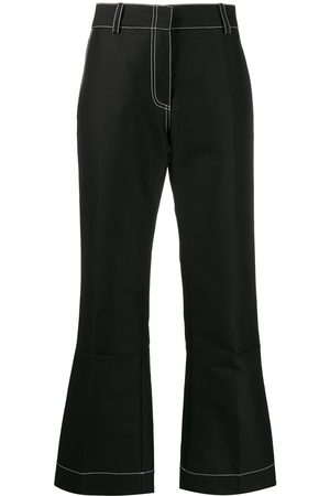 Marni Pencil-cut flared trousers