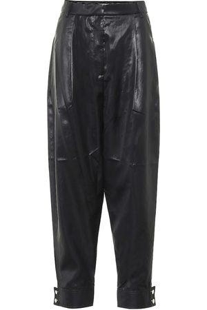 tibi Pantalones ajustados Liquid Drape