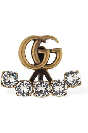 "Gucci | Mujer Pendiente Individual ""gg Marmont"" De Cristales /cristal Unique"