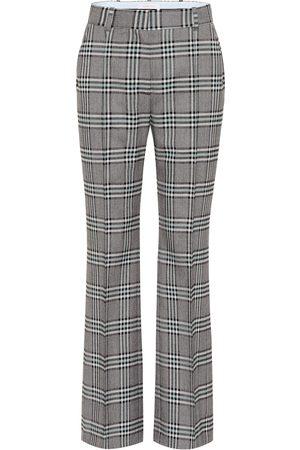 See by Chloé Mujer Pantalones de talle alto - Pantalones anchos de tiro alto