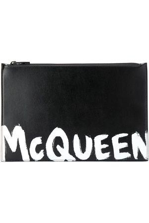 Alexander McQueen Bolso de mano con logo