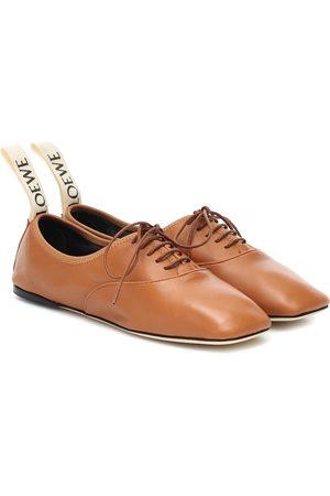 Loewe Zapatos Derby de piel