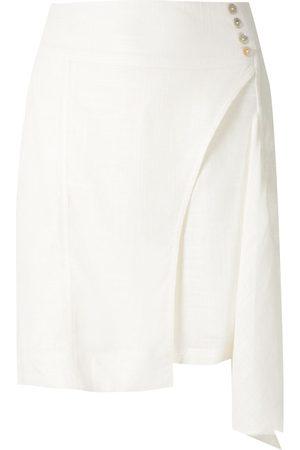 Olympiah Mujer Minifaldas - Falda corta Ylang asimétrica