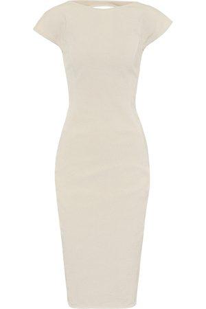 Rick Owens Vestido Easy Sarah de algodón