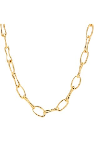 Sophie Buhai Collar Roman Chain con baño en oro de 18 ct
