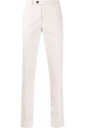 Brunello Cucinelli Hombre Pantalones chinos - Pantalones chinos con corte slim