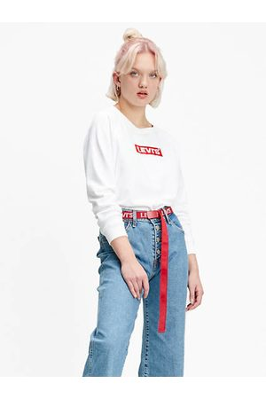 Levi's Relaxed Graphic Crewneck Neutre / Crew Box Tab White+