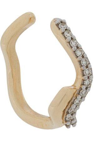 Maria Black Pendiente ear-cuff con diamantes