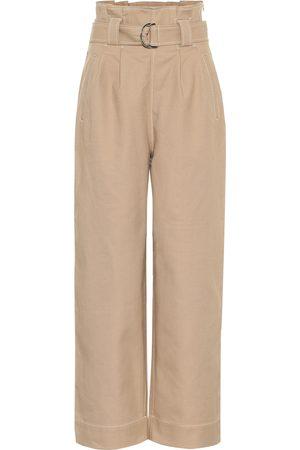 Ganni Pantalones en mezcla de algodón
