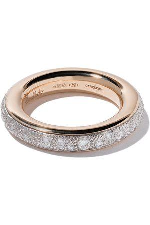 Pomellato Anillo Iconica con diamantes en oro rosa 18kt