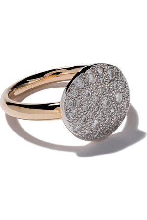 Pomellato Anillo Sabbia con diamantes en oro rosa 18kt
