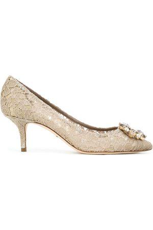 Dolce & Gabbana Zapatos de tacón bordados