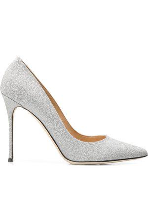 Sergio Rossi Zapatos de tacón metalizados