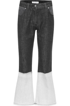 J.W.Anderson Jeans flared de tiro alto