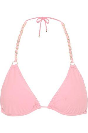 JONATHAN SIMKHAI Top de bikini triangular