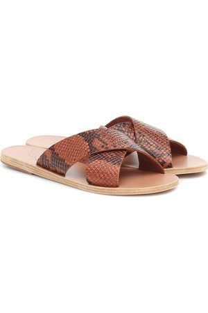 Ancient Greek Sandals Palas Thais de piel