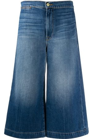 Frame High-rise culotte jeans