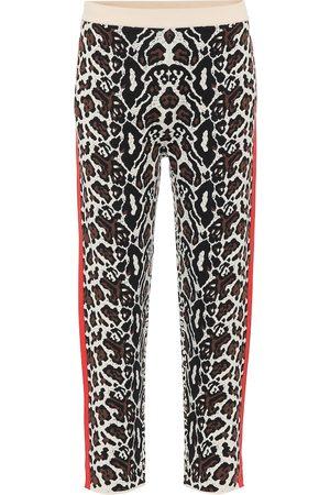 Stella McCartney Pantalones de chándal de punto