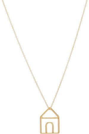 Aliita Collar Casita Pura de oro de 9 ct