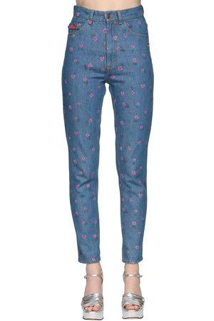 Marc Jacobs | Mujer Jeans De Con Cintura Alta /multi 24