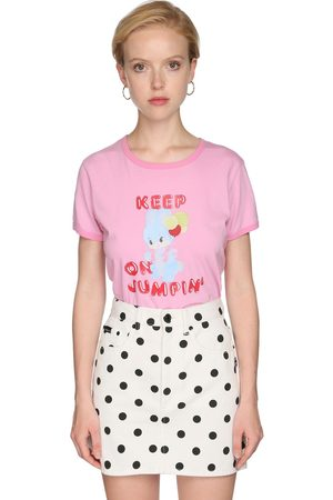 Marc Jacobs | Mujer Camiseta De Jersey Estampada Xs