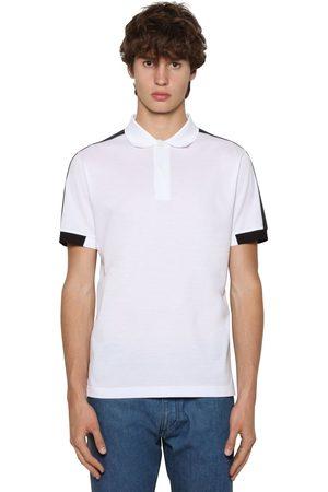 Prada | Hombre Camiseta Polo De Algodón Piqué Xs