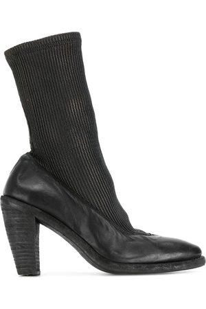 GUIDI Botines estilo calcetín