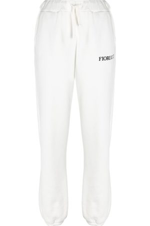 Fiorucci Pantalones joggers con parche de ángeles