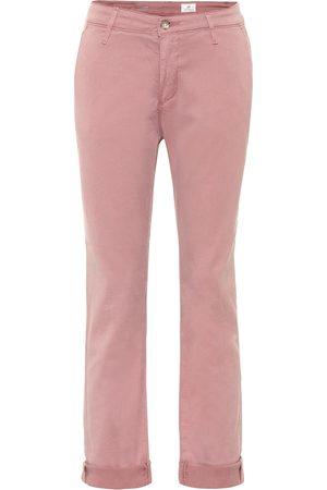 AG Jeans Mujer Rectos - Jeans rectos Caden Chino tiro medio