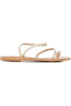 Ancient Greek Sandals Sandalias Eleftheria con diseño trenzado