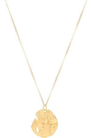 Alighieri Collar St. Christopher con baño en oro de 24 ct