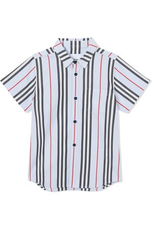 Burberry Camisa a rayas Icon Stripe