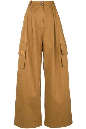 Natasha Zinko Mujer Pantalones cargo - Pantalones tipo cargo anchos