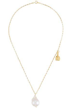 Alighieri Collar con detalle de ancla y diseño barroco