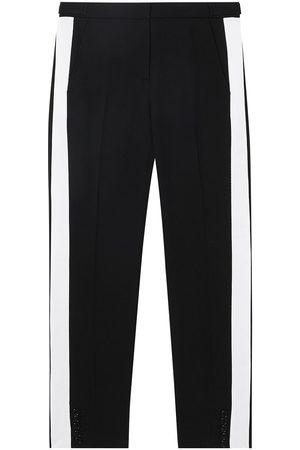 Burberry Pantalones de vestir con rayas laterales