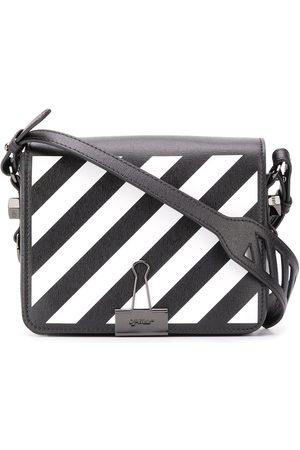 OFF-WHITE Bolso de hombro con motivo de rayas diagonales