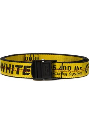 OFF-WHITE Cinturones - Cinturón con diseño industrial y logo