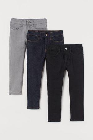 H&M Pack de 3 Skinny Fit Jeans
