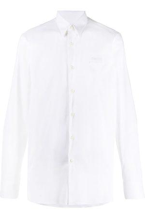 Prada Button up logo detail shirt