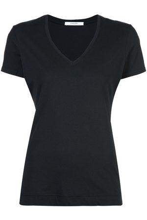 ADAM LIPPES Camiseta con cuello en V