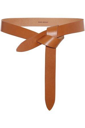 Isabel Marant Cinturón Lecce de piel