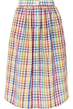 MDS Stripes Mujer Midi - Faldas a media pierna