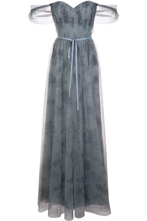 Marchesa Notte Vestido tipo body drapeado