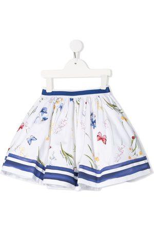 MONNALISA Pull-on A-line skirt