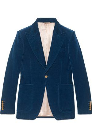 Gucci Hombre Abrigos largos - Chaqueta de Vestir de Terciopelo