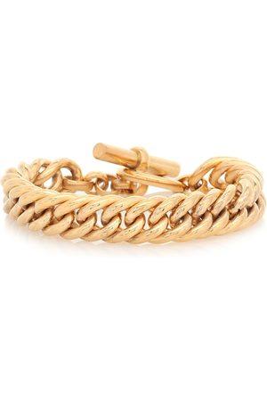 Tilly Sveaas Pulsera de cadena grande con baño en oro de 23.5 ct