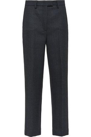 Prada Mujer Pantalones de vestir - Pantalones a cuadros Príncipe de Gales