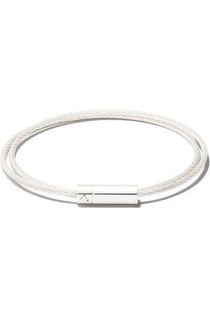 Le Gramme Pulsera Le 9 Grammes Double Cable